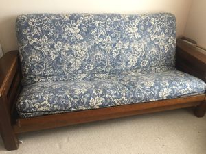 Queen size all wood futon in great condition for Sale in Manassas, VA