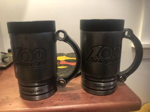 Snap on 100th anniversary mug set for Sale in Trappe, MD
