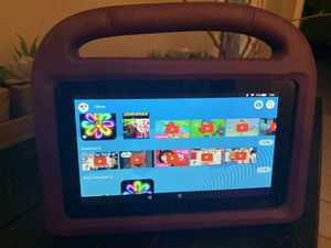Fire Edition Tablet w/ case for Sale in Dallas, TX