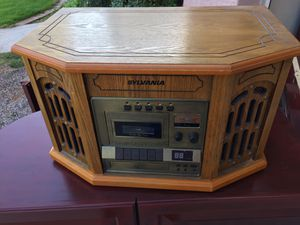 Record tape radio CD player for Sale in Gilbert, AZ