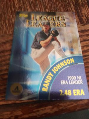 Randy johson error card for Sale in Wichita, KS