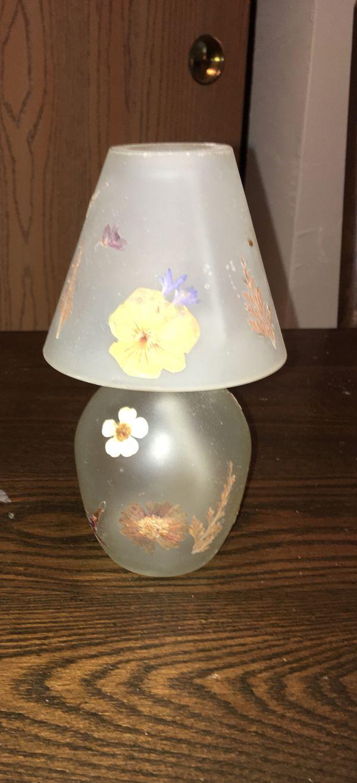 2 Decorative Tea Candle or Oil Lamps
