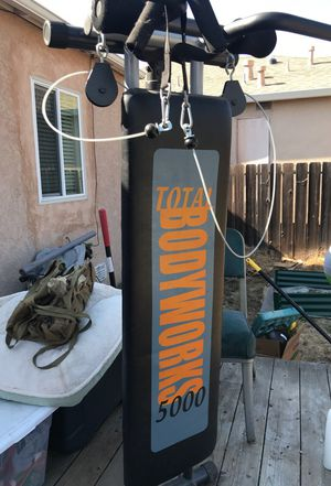 Total body gym - $20 bucks San Leandro pick up for Sale in San Leandro, CA