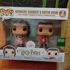 Harry Potter Hermoine & Viktor EXCLUSIVE Pop for Sale in Philadelphia, PA