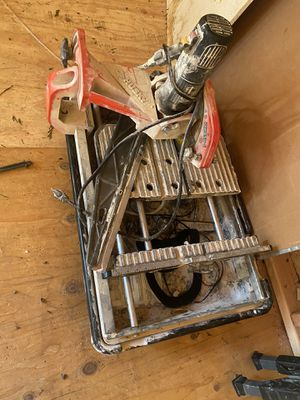 Tile cutter and stand for Sale in Tulalip, WA