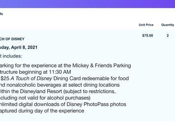 Disney Tixs for Sale in Inglewood,  CA