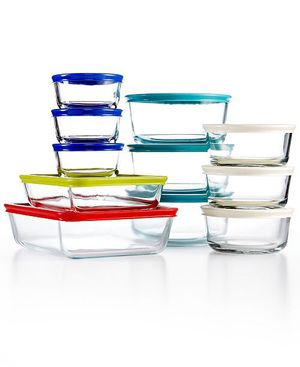 Pyrex 22 piece food storage container for Sale in Burlington, MA