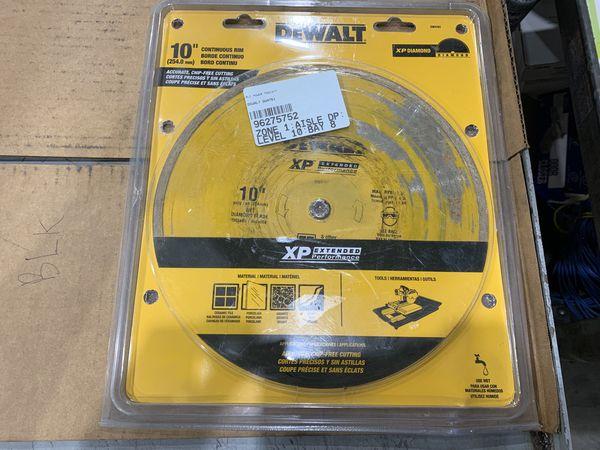 Lot Of Used Dewalt Blades $350 Value!