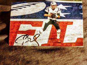 Tom Brady Autographed 4×6 Photo for Sale in Kokomo, IN