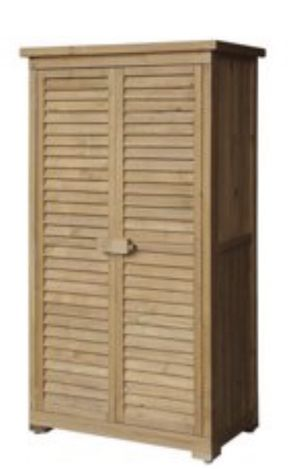 New in Box Merax Wooden Garden Shed Wooden Lockers with Fir wood Shutter design. Assembly Required for Sale in Norfolk, VA