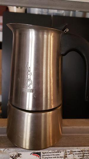 Bialetti coffee moka espresso maker stovetop stainless steel for Sale in Camas, WA