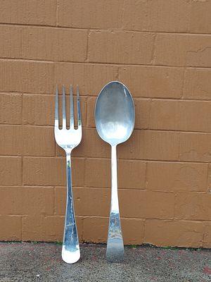 4' stainless steel plate brass silverware set for Sale in Philadelphia, PA