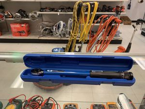 "Parktool ratcheting torque wrench (3/8"") for Sale in Austin, TX"