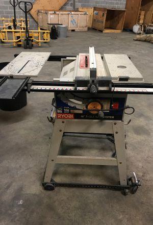 Rhino 10in table saw on wheels for Sale in Atlanta, GA