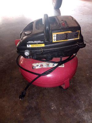 3gallon air compressor work great no hose only compressor for Sale in Stockton, CA