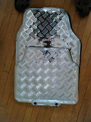 Chrome floor mat's. New $25 for Sale in Salt Lake City, UT