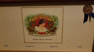 Antique Tampa Cigar box Cuesta Rey wooden for Sale in Tampa, FL
