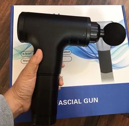 New New 6speed Deep Muscle Massage Gun Fascia Gun for Sale in Upland,  CA