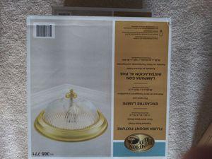 New 2 Hampton Bay light fixtures brass for Sale in UPR MARLBORO, MD