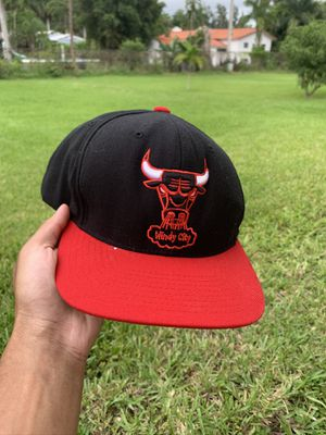 Chicago bulls vintage hardwood classic SnapBack for Sale in North Miami, FL