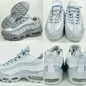 NIKE AIR MAX 95 LX PLATINUM GREY WHITE WOMENS SIZE 11.5/MENS 10 (MAKE OFFER) for Sale in Euless, TX