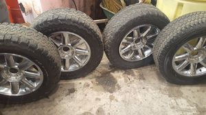 4 20 inch 6 lug GMC rims one rim is broken for Sale in Baltimore, MD