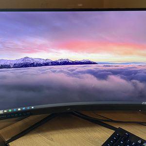 "MSI Optix G27C4 FHD 1500R Curvature 16:9 Aspect Ratio Non-Glare Super Narrow Bezel 1ms 1920 x 1080 165Hz Refresh Rate Tilt Adjustment AMD FreeSync 27"" for Sale in Peoria, AZ"