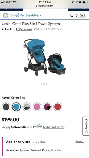 Urbini Stroller and car seat for Sale in Nederland, TX