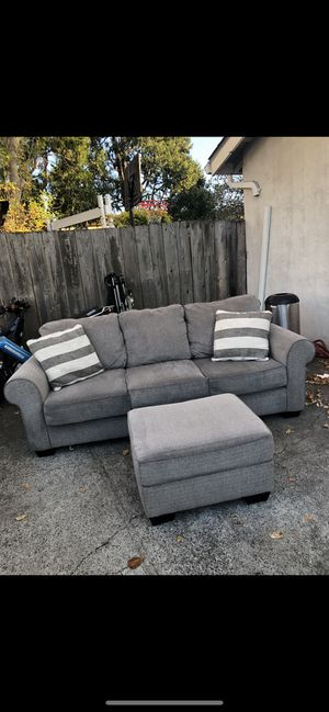 Grey couch for sale for Sale in Alameda, CA