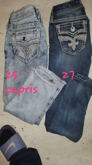 Missme jeans 2 pair 25 ,27 for Sale in Parkersburg, WV