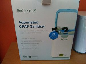 CPAP machine & sanitizer for Sale in Jersey City, NJ