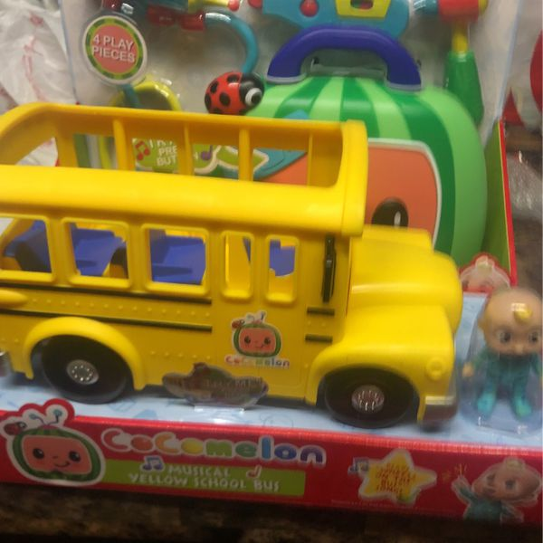 Cocomelon Doctor And Bus