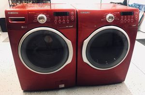Samsung steam washer and dryer set for Sale in Riverside, CA