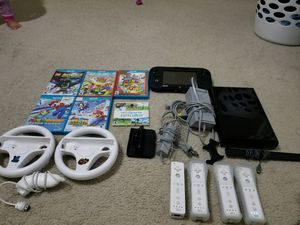 Nintendo Wii U plus games and controllers for Sale in Waldorf, MD
