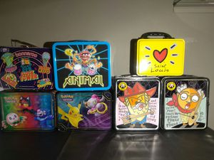 Awesome lunch boxes/collectors chest for Sale in St. Louis, MO