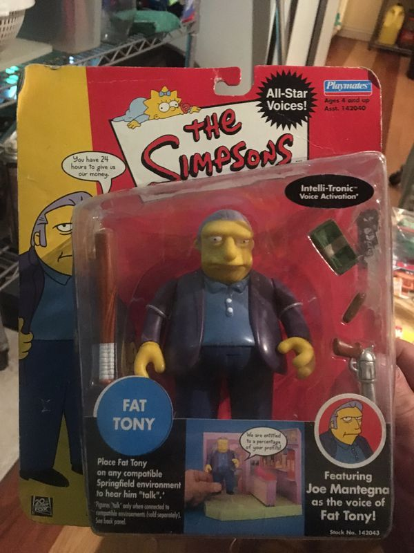 The Simpsons action figures