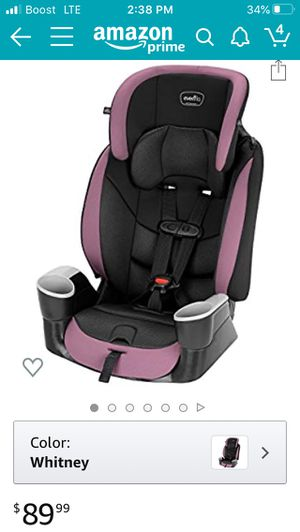 Evenflo car Seat Booster for Sale in Calexico, CA