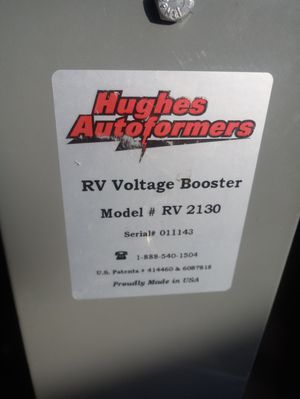 Hughes autoformer (RV Electric Booster) Boost electricity for Sale in Bedford Park, IL