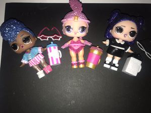 Lol Sparkle Series Dolls lot of 3 for Sale in Portland, OR