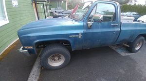 1981 chevy k20 4x4 for Sale in Seattle, WA