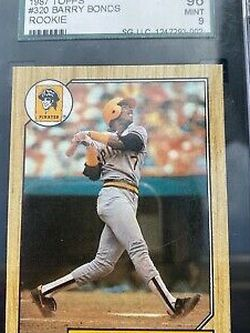 1986 Barry Bonds Rookie Card. Partial Error Of 3 On Back. Nmt . Nice for Sale in Caldwell,  WV