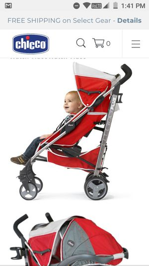 Chicco liteway plus lightweight stroller for Sale in Plainfield, IL