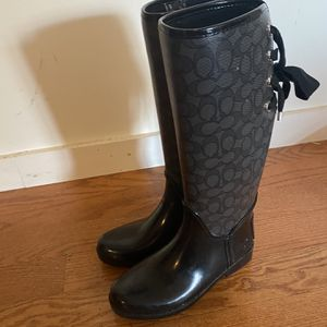 Coach Rain Boots for Sale in Brooklyn, NY