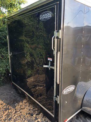 black cargo trailer2019 for Sale in Miami Gardens, FL