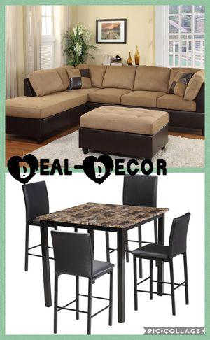 Tan 2 Room Combo Set for Sale in Marietta, GA