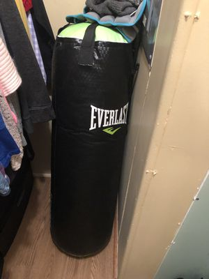 Punching bag for Sale in Zanesfield, OH
