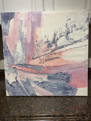 2 1/2 ft x 2 1/2 ft Modern Abstract Painting. Perfect condition. for Sale in St. Petersburg, FL