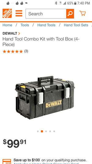 Dewalt pack out box for Sale in San Jose, CA