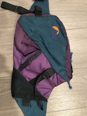 Vintage Lowe alpine Fanny pack hiking running training for Sale in Huntington Beach, CA
