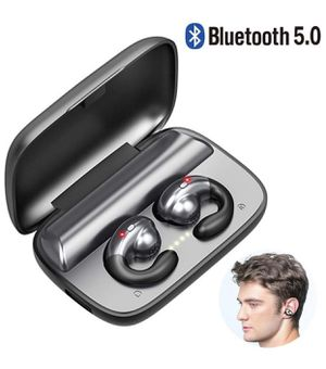 Bluetooth Bone Conduction Earphone Earbuds Headphones, Built-in Mic, best outdoor exercises workout for Sale in Pompano Beach, FL